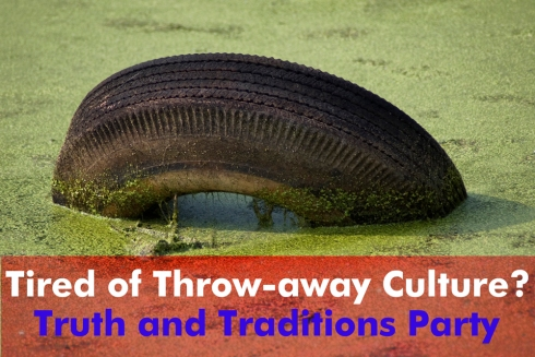 tired of throwaway culture?